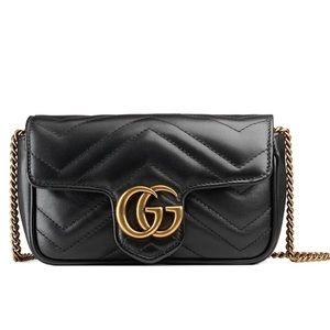 Gucci GG Marmont Matelasse Super Mini Bag